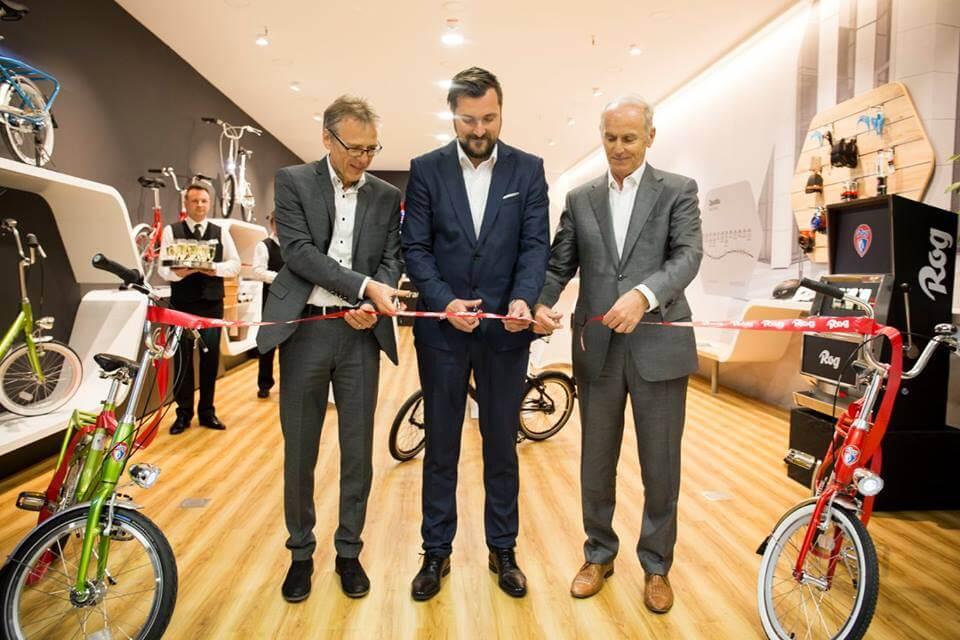 Rog eröffnete einen Ausstellungsraum im BTC City in Ljubljana